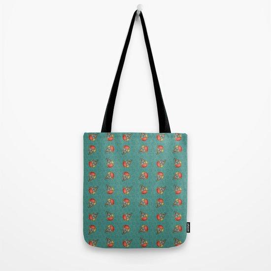 Puki Owl Pattern Tote Bag