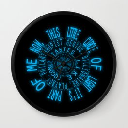 I Am Iron Man Wall Clock