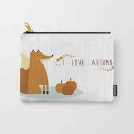 I love Autumm Carry-All Pouch