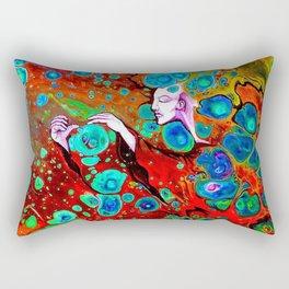 Atomic Witch Rectangular Pillow