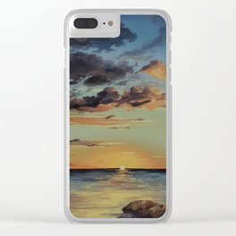 Sunset in the Florida Keys Clear iPhone Case