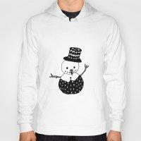 snowman Hoodies featuring Snowman by Teaspoon Of Me