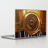 android Laptop & iPad Skins featuring Paranoid Android by BinaryGod.com