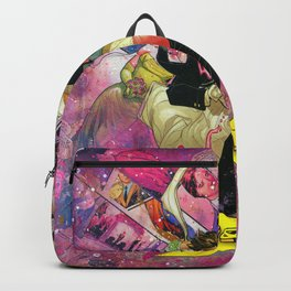 Xmen Wedding Mr. and Mrs. X Comic Art Collage Gambit and Rogue Backpack