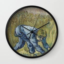 The Reaper (after Millet) Wall Clock