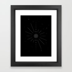 Stellar Evolution Framed Art Print