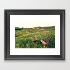 I've been waiting for you Framed Art Print