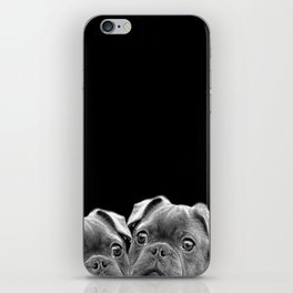 puppies dogs iPhone Skin