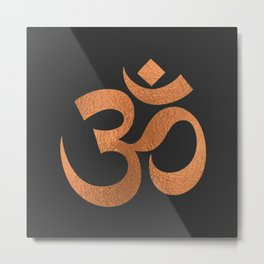 OM- A Home Within Metal Print