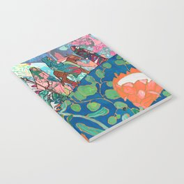 Floral Migrant Quilt Notebook