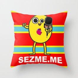 Hello Mellow Classic Throw Pillow