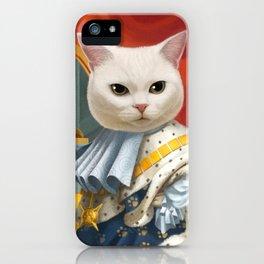 Cat King iPhone Case