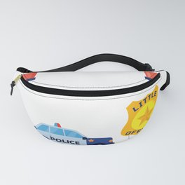 Future Police Officer Happy Birthday Gifts For Children Fanny Pack
