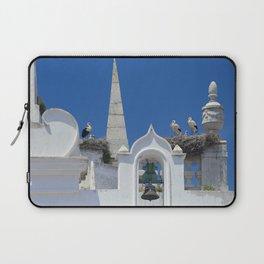 Arco da Vila storks Laptop Sleeve