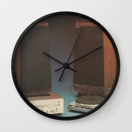 Vintage 1970's HiFi 2 Wall Clock