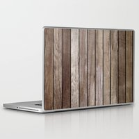 wooden Laptop & iPad Skins featuring Wooden Texture by Patterns and Textures