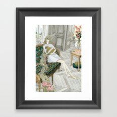 Two Puppies Framed Art Print