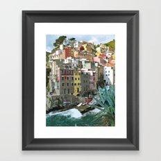 Riomaggiori Framed Art Print