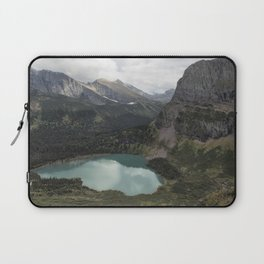Grinnell Lake from the Trail No. 2 - Glacier NP Laptop Sleeve