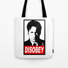 Disobey Mulder Tote Bag
