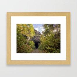 DWP Tunnel on a Fall Morning Framed Art Print
