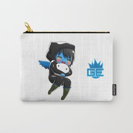 Fuzzy Chibi Luc (Expression 1)  Carry-All Pouch