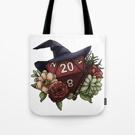 Wizard Class D20 - Tabletop Gaming Dice Tote Bag