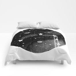 Make a wish Comforters