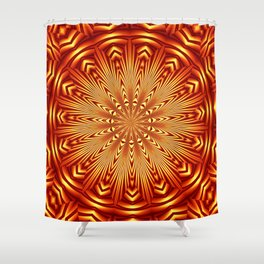 Mndala 33 Shower Curtain