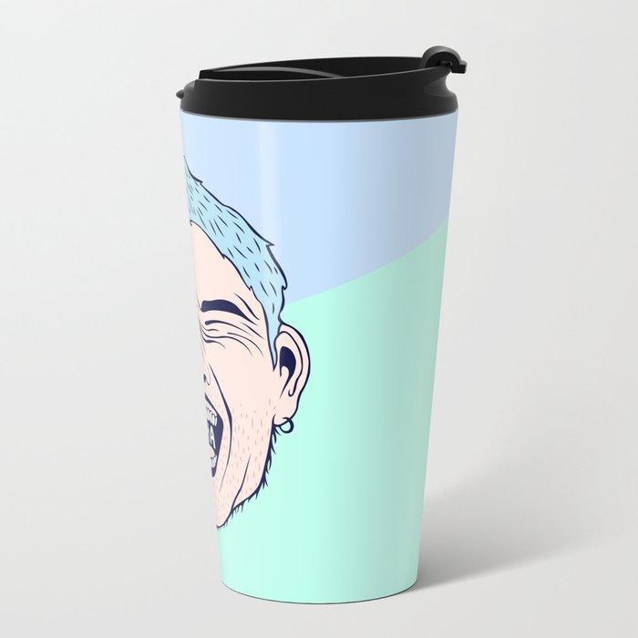 HAHA Metal Travel Mug
