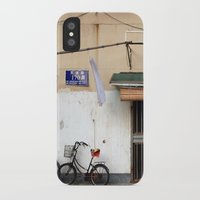 china iPhone & iPod Cases featuring CHINA by Sara Ahlgren