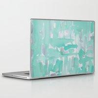aqua Laptop & iPad Skins featuring Aqua by Georgiana Paraschiv
