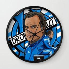 Loco Marseille OM Bielsa Wall Clock
