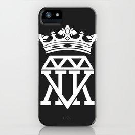 King Krown (BLACK) iPhone Case