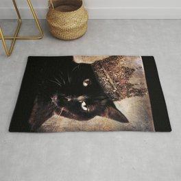 Black Cat - Queen Cora Rug