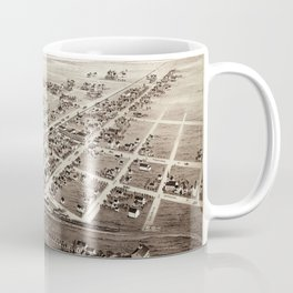 Map Of Plano 1891 Coffee Mug