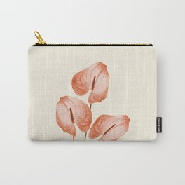 Anthurium - Anthurie - Flamingo Flower Carry-All Pouch