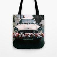 cuba Tote Bags featuring cuba by Love Improchori