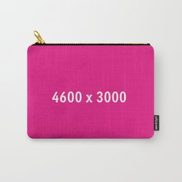 3000x2400 Placeholder Image Artwork (Pink) Carry-All Pouch