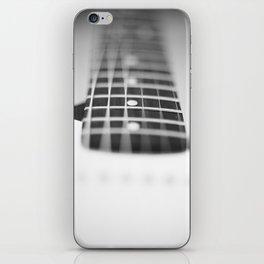 Guitar macro monochrome iPhone Skin
