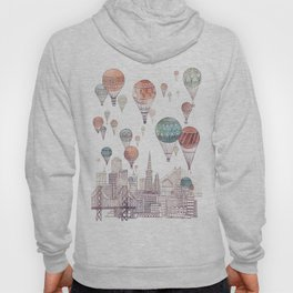 Voyages Over San Francisco ~ Refresh Hoody
