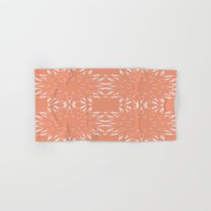 Peach Color Burst Hand & Bath Towel