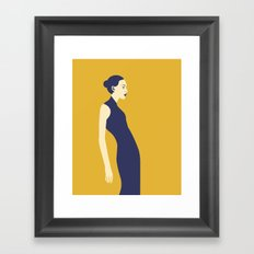 Celandine Yellow Framed Art Print