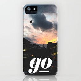 Go // #TravelSeries iPhone Case
