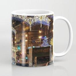 Light decorations on Nevsky Prospect. Coffee Mug