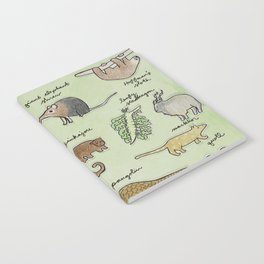 The Obscure Animal Alphabet Notebook