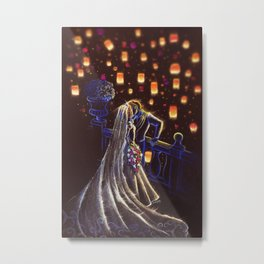 Tangled Ever After Metal Print