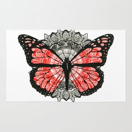 Save the Monarchs Rug