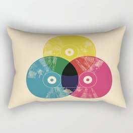 Music is the colors of life Rectangular Pillow