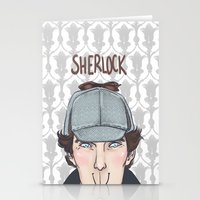 sherlock Stationery Cards featuring Sherlock by enerjax